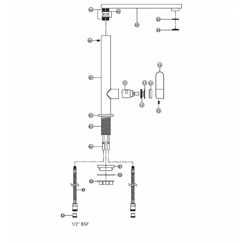 Linear Single Lever