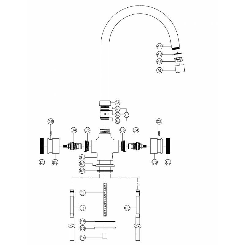 lamona black  u0026 chrome  tap3630  from tap