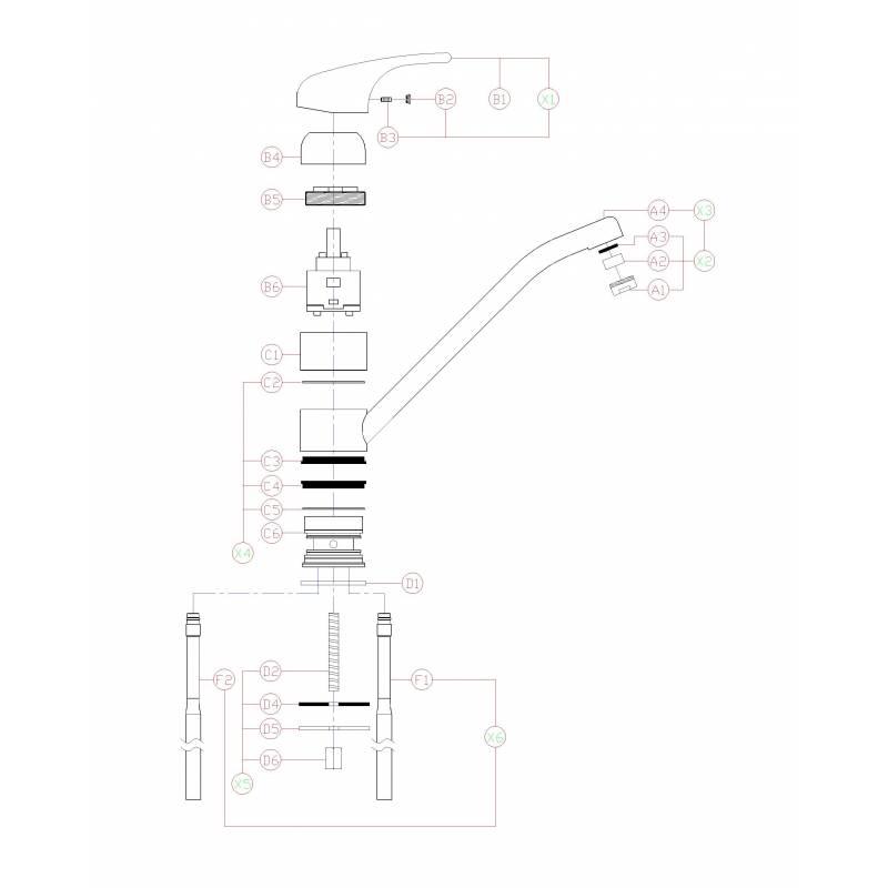 TC15 Low Pressure Single Lever